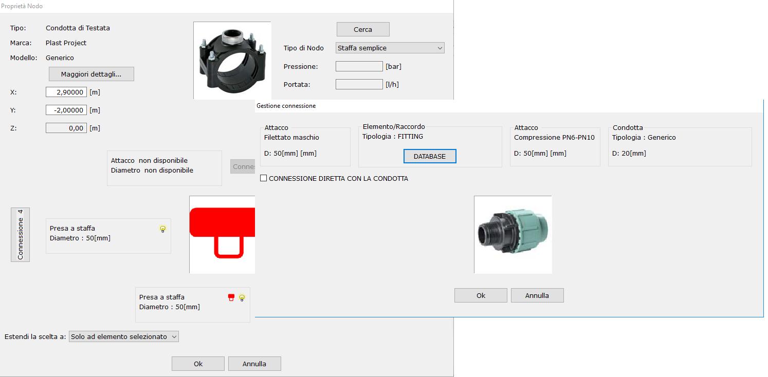 Irripro progettazione impianti irrigazione software di for Software di progettazione domestica personalizzato