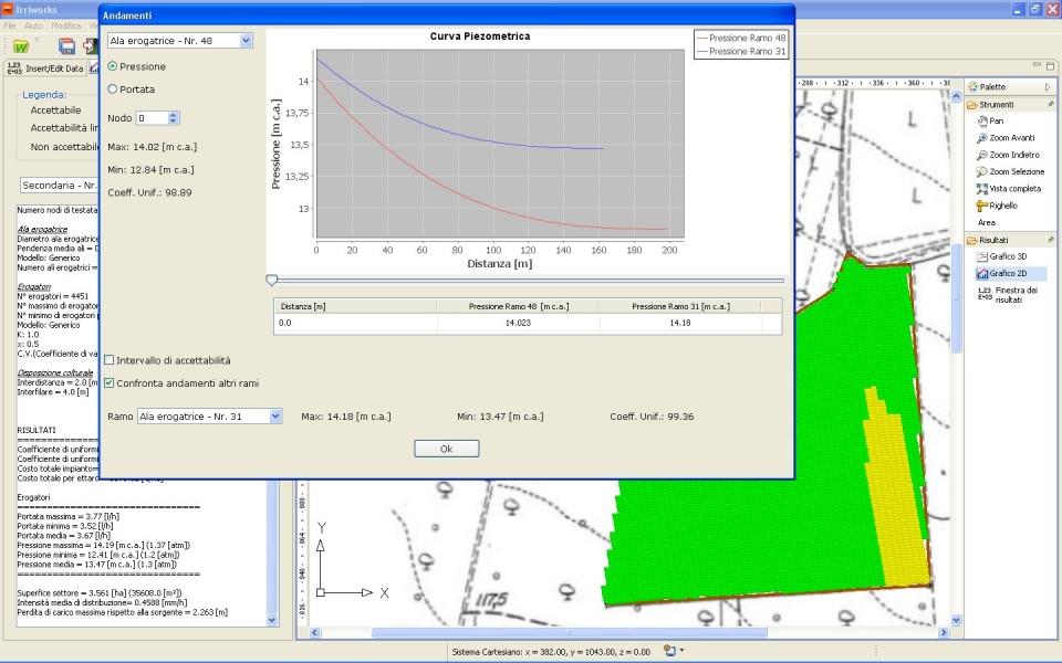 Screenshot progettazione impianti irrigazione software for Software progettazione impianti irrigazione gratis