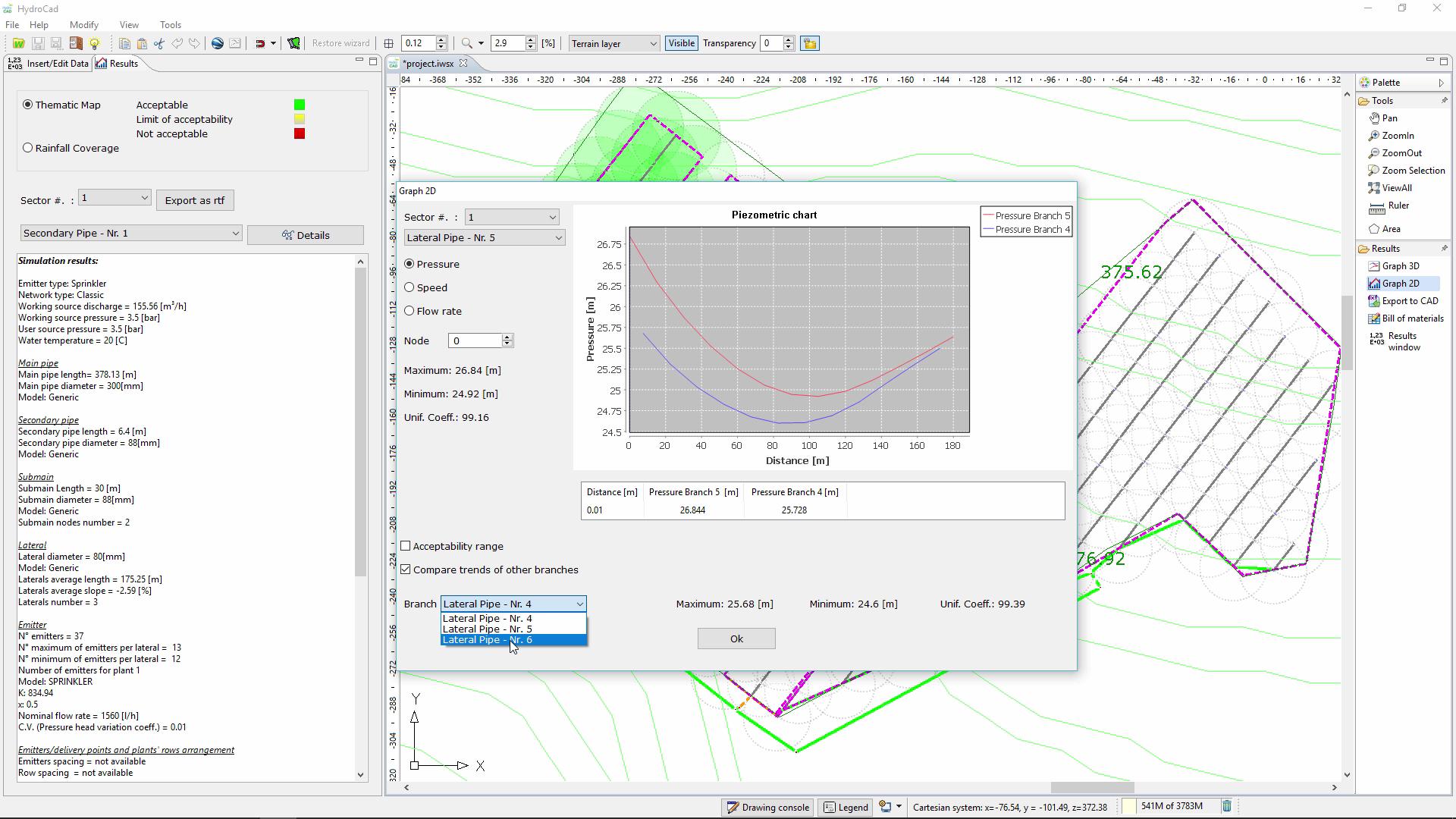 Hydrocad progettazione impianti irrigazione software for Software di progettazione di mobili