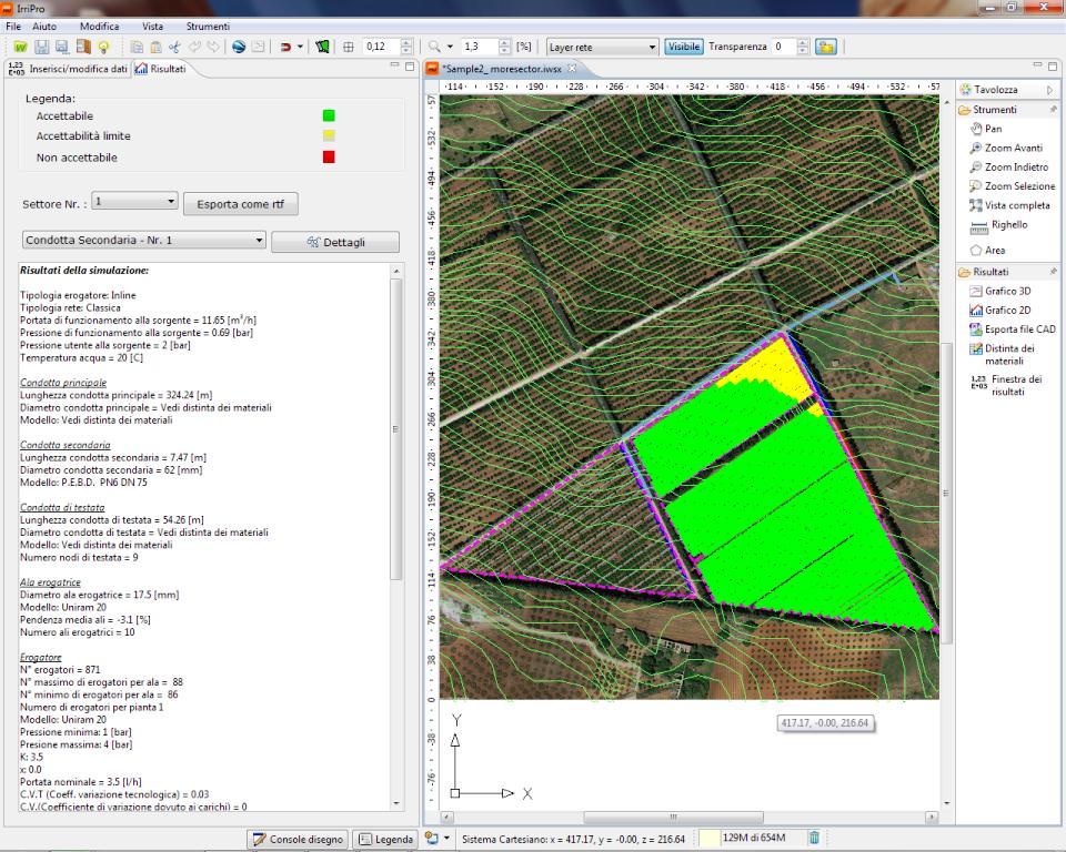 Progetti sample progettazione impianti irrigazione for Software di progettazione domestica personalizzato